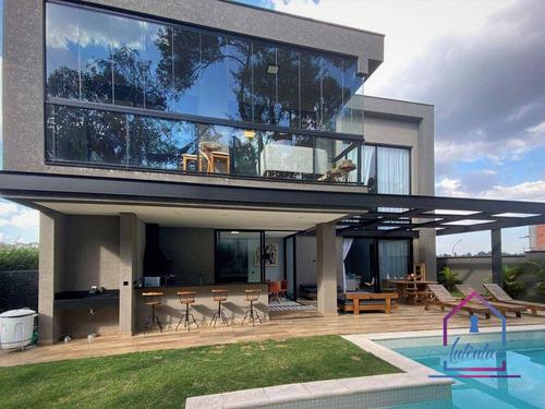 Imagem 1 de 30 de Casa Com 4 Dormitórios À Venda, 399 M² Por R$ 3.100.000,00 - Granja Viana - Carapicuíba/sp - Ca1282
