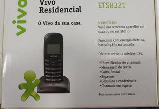Celular Ets 8321 Dual Band Obs: Só Funciona Operadora Vivo