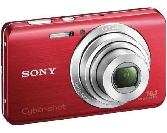 Camara Sony Cyber-shock Sd 16.1 Mpx Con Sus Accesorios