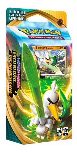 Pokemon Card Deck Escuridão Incandescente Sirfetch'd Galar