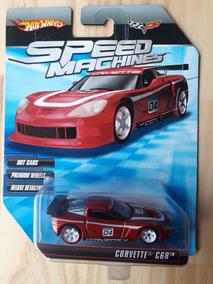 Hot Wheels - Speed Machines - Corvette Cgr (vermelho)