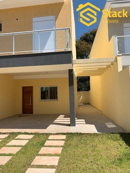 Casa Nova À Venda No Condomínio Villagio Di San Francesco, Bairro Medeiros Em Jundiaí. Sobrado Com 3 Quartos Com Acesso À Varanda Sendo 1 Suíte, Banhe - Ca01367