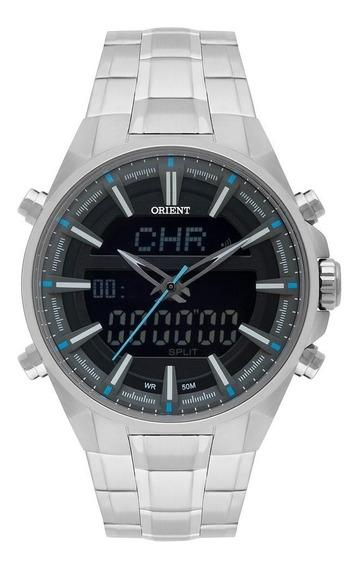 Relógio Orient Masculino Ref: Mbssa049 P1sx Anadigi Gmt