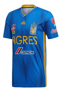 Jersey Playera Tigres Visitante 2019 2020 Nueva 7 Estrellas