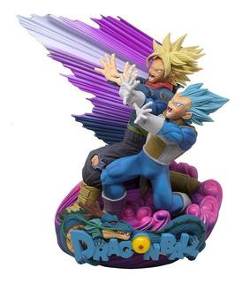 Dragon Ball Super Master Stars Diorama Ii Vegeta & Trunks
