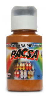 Pintura Para Piel Y Plástico Pacsa Cafe Claro 02 125 Ml