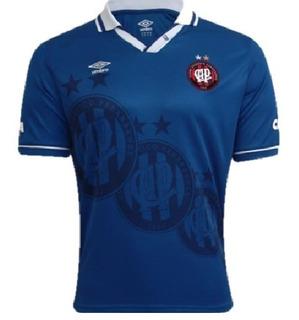 Camisa Umbro Atlético Paranaense 3 2014 Azul