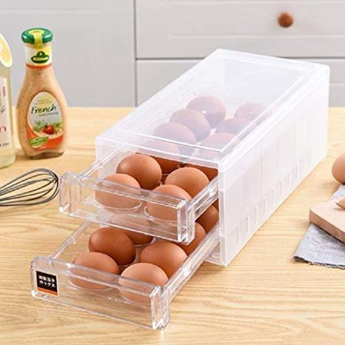 Imagen 1 de 7 de Caja De Almacenamiento De Huevos De 24 Cuadrículas