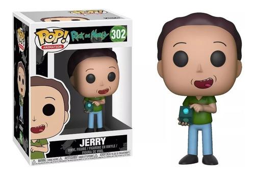 Funko Pop!  Rick & Morty Jerry #302