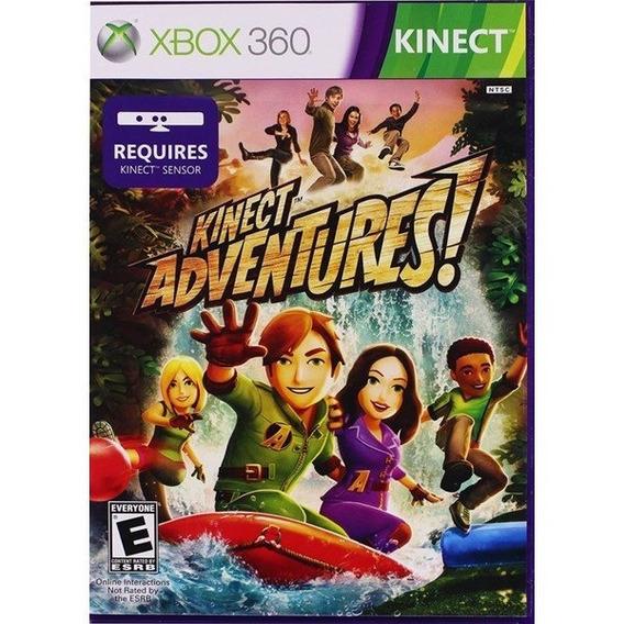 Game Xbox 360 Kinect Adventures - Usado - Otimo