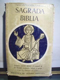 Adp Sagrada Biblia / Biblioteca De Autores Cristianos 1977