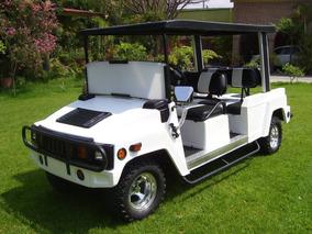 Carro / Carrito Electrico Tipo Hummer Para 6 Pasajeros