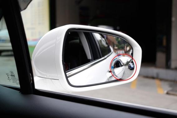 2x Espelho Auxiliar Retrovisor 360° Convexo Carro Caminhão