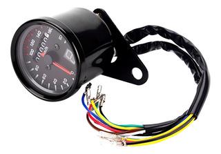 Velocímetro Tacómetro Universal Para Motocicleta 12v