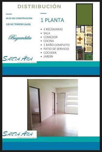 Casa En Venta En Fraccionamiento Santa Ana (villa De Pozos)