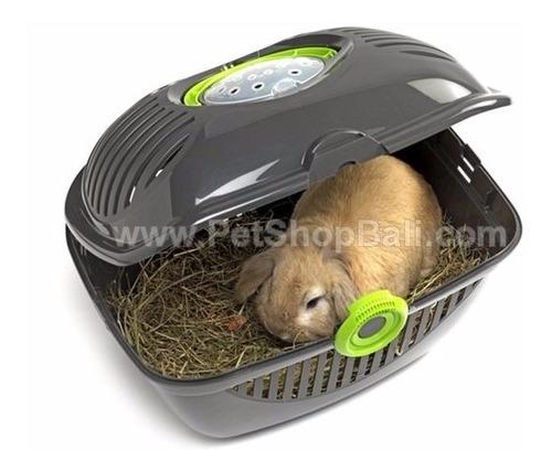 Jaula Kennel Transportador D Lujo Perro Gato Cachorro Conejo