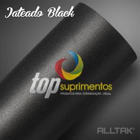 Vinil Adesivo Black Jateado 4.00m X 1.37cm