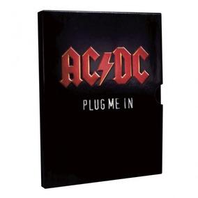 Box Ac Dc - Plug Me In - 2 Dvds - Lacrado