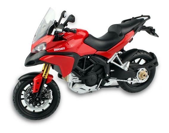 Miniatura Moto Ducati Multistrada 1200s - 2010 1:12 Maisto