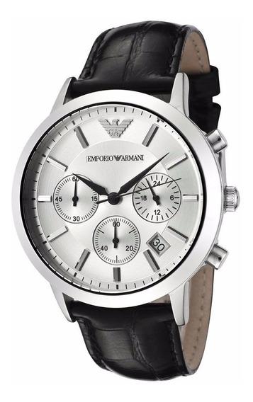 Reloj Emporio Armani Classic Chronograph Ar2432 100% Genuino