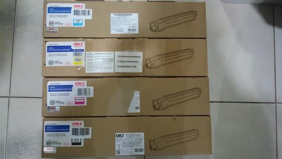 Kit 4 Cores Okidata C910