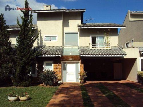 Casa Com 3 Dormitórios À Venda, 387 M² Por R$ 1.950.000,00 - Morada Dos Pinheiros (aldeia Da Serra) - Santana De Parnaíba/sp - Ca0438