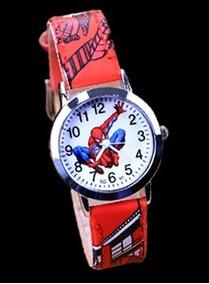 Relógio Homem Aranha Rg010c Pulseira Vermelho Promoção!!!