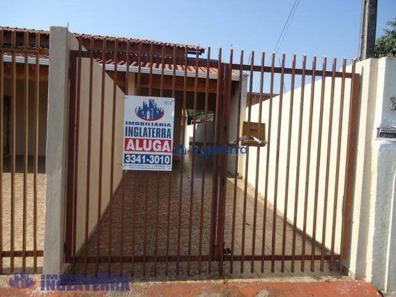 Casa Com 1 Dormitório Para Alugar, 40 M² Por R$ 700,00/mês - Esperança - Londrina/pr - Ca1287