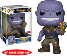 Funko Pop Thanos (308) 10 Pulgadas Marvel Avenegrs To Disney