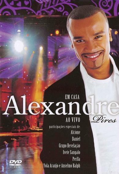 Alexandre Pires Em Casa Ao Vivo - Dvd -