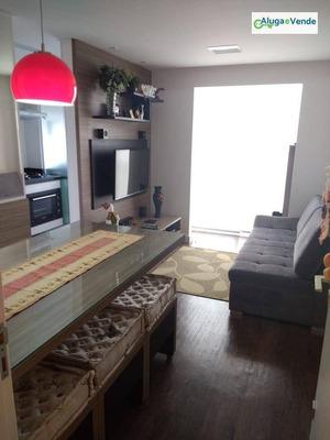Apartamento Com 2 Dormitórios À Venda No Residencial Adresse, Por R$ 270.000 - Jardim Cocaia - Guarulhos/sp - Ap0044