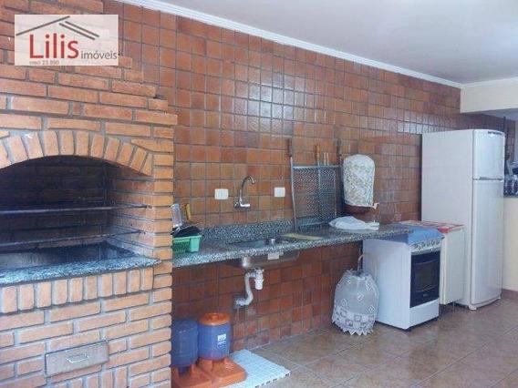 Casa Térrea 5 X 40 - Água Rasa, Interesse Em Permuta Por Imóvel Praia Grande - Ca0018