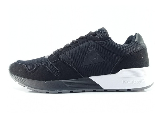 Zapatillas Le Coq Sportif Omega X Negro Envios Caba Y Bs As