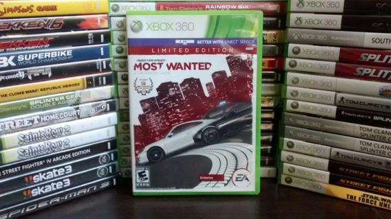 Need For Speed Most Wanted Xbox 360 Original Frete R$ 12