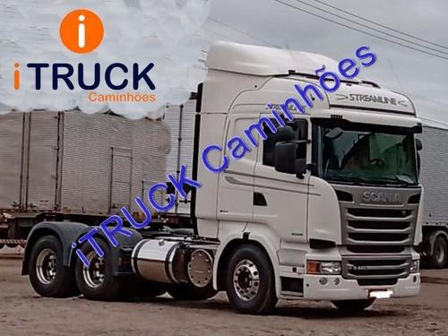 Scania R440 A 6x2 Highline 2016/16 Finíssima = Volvo 460 480