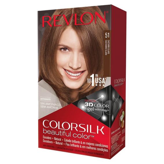 Colorsilk Revlon Kit Coloracion Sin Amoniaco Todos Los Tonos