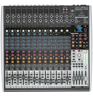 Mesa De Som Behringer Xenyx X2442 Usb Mixer C/ Efeitos