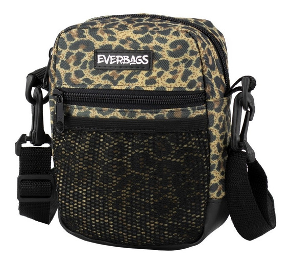 Shoulder Bag Onça Everbags Tira Colo Necessaire