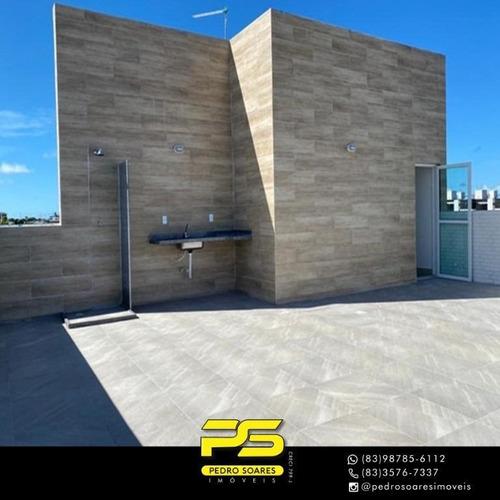 Apartamento Com 2 Dormitórios À Venda, 60 M² Por R$ 159.000 - Portal Do Sol - João Pessoa/pb - Ap3584