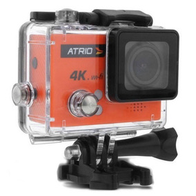 Filmadora Digital Go Atrio Pro Sport Full Hd 4k Wifi