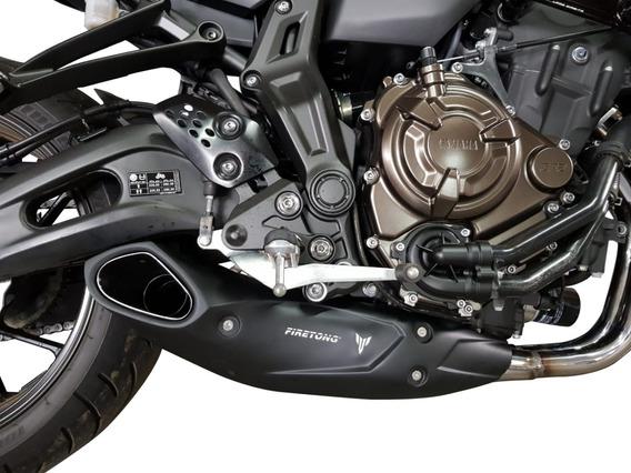 Escapamento Sport Firetong Willy Made Yamaha Mt07 Mt 07 Novo