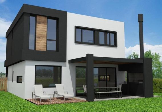 Venta Moderna Casa En Santa Elena, Pilar Del Este