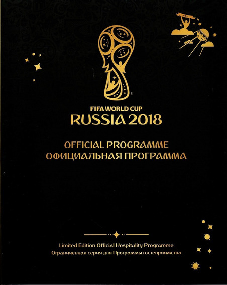 Fifa World Cup Russia 2018 Official Programme
