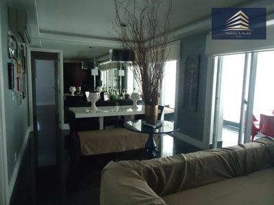 Apartamento No Condomínio Via Jardins Do Bosque, Centro Guarulhos, 3 Suítes, 3 Vagas. - Ap0298