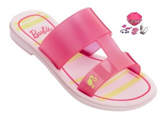 Rasteira Infantil Barbie Surprise - Rosa