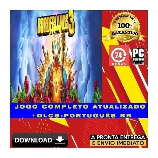 Borderlands 3 - Pc - Digital - Legendas Português + Brinde