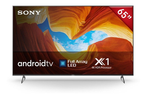 Televisor Sony 4k Hdr 65' Android Tv Full Array  Xbr-65x907h