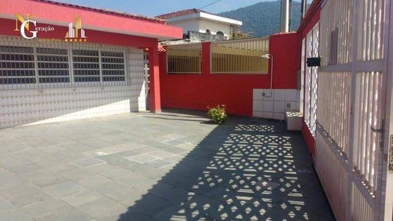 Casa Com 3 Dormitórios À Venda, 279 M² Por R$ 286.200,00 - Solemar - Praia Grande/sp - Ca0133