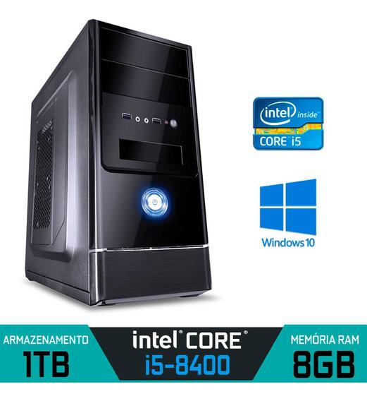 Computador Alfatec Intel Core I5-8400 Ram 8gb Hd 1tb Win 10