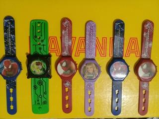 Reloj De Coleccion Mac Donals.hombre Araña Vs